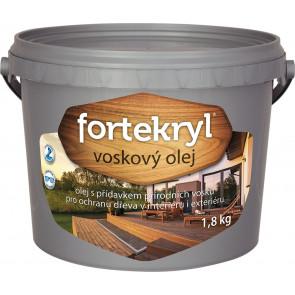 FORTEKRYL voskový olej 1,8kg bezbarvý , tónovatelný