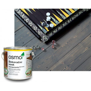 OSMO Dekorační vosk transparentní 3161 0,75 l ebenové dřevo