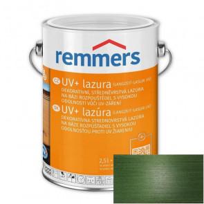 REMMERS UV+ LAZURA JEDLOVĚ ZELENÁ 2,5L