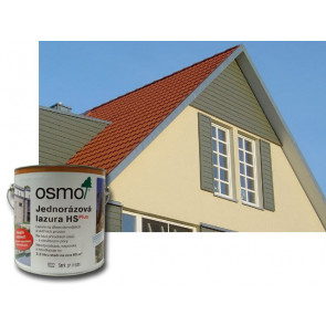 OSMO Jednorázová lazura HS Plus 9234 0,375 l skandinávská červená