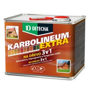 Detecha Karbolineum Extra 3,5 kg teak-impregnačný lazúrovací náter na drevo