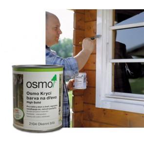 OSMO Krycí barva na dřevo 2104 0,75 l bílá