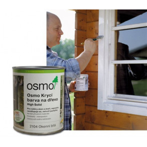 OSMO Krycí barva na dřevo 2104 2,5 l bílá