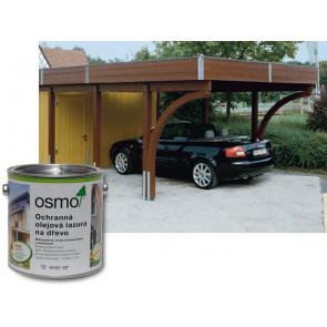 OSMO Ochranná olejová lazura 729 2,5 l jedlově zelená