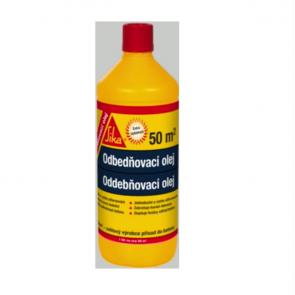 Sika Odbedňovací olej 1l, separační prostředek na bednění