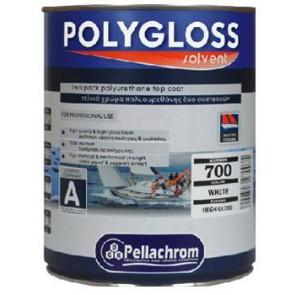 Polygloss A+B 0,75L bílá lesk - dvousložkový polyuretanová vrchní email s vysokou odolností