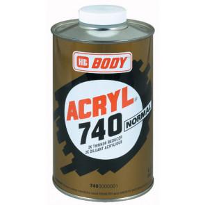BODY 740 akrylátové ředidlo 1L