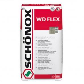 SCHÖNOX WD FLEX 5Kg béžová - Snadno použitelná vodoodpudivá flexibilní spárovací hmota