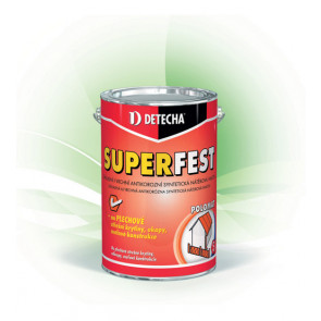 DETECHA SUPERFEST červenohnědý 5kg  základní i vrchní antikorozní syntetická nátěrová hmota