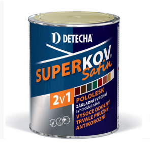 DETECHA SUPERKOV Satin  Ral 8016 pololesk 20kg šedý antracit