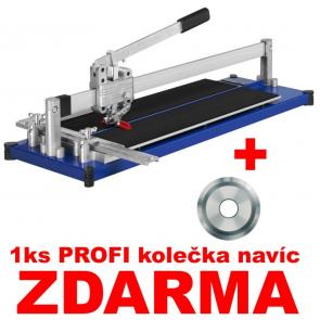 TopLine 630 profesionální řezačka dlažby 630mm + 1ks PROFI kolečko navíc ZDARMA