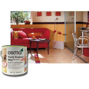 OSMO Tvrdý voskový olej barevný 3073 25 l hnědá zem