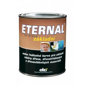 ETERNAL na dřevo základní 0,7 kg bílá