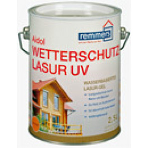 Aidol Weterschutz-Lasur UV 0,75 L- pro renovaci nátěrů oken a dveří,hedvábně lesklý