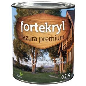 FORTEKRYL lazura PREMIUM 0,7 kg ořech