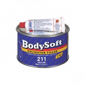 BodySoft 211 tmel žlutý 3kg